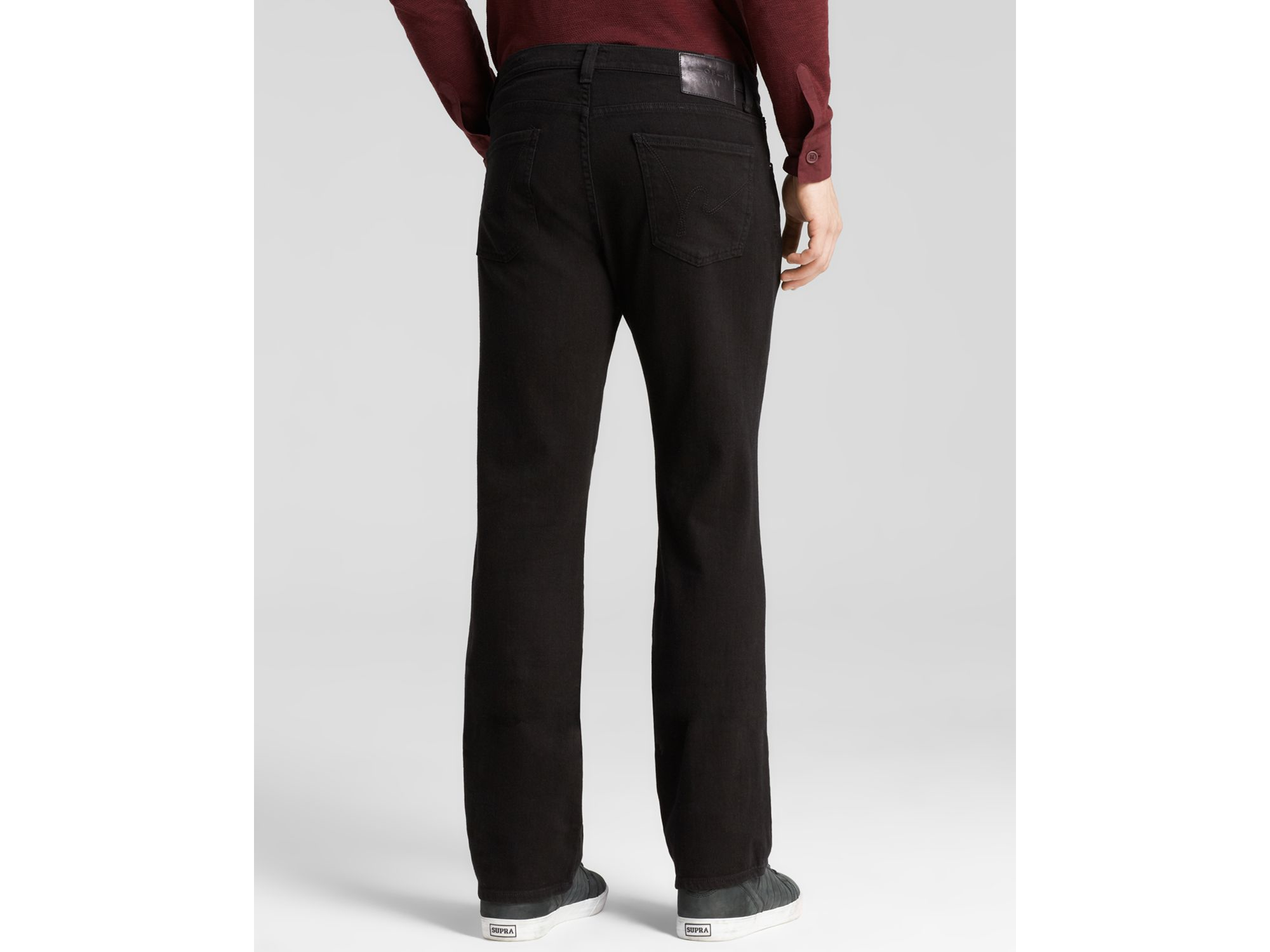 Citizens of Humanity Jagger Bootcut Fit In Midnight in Black for Men
