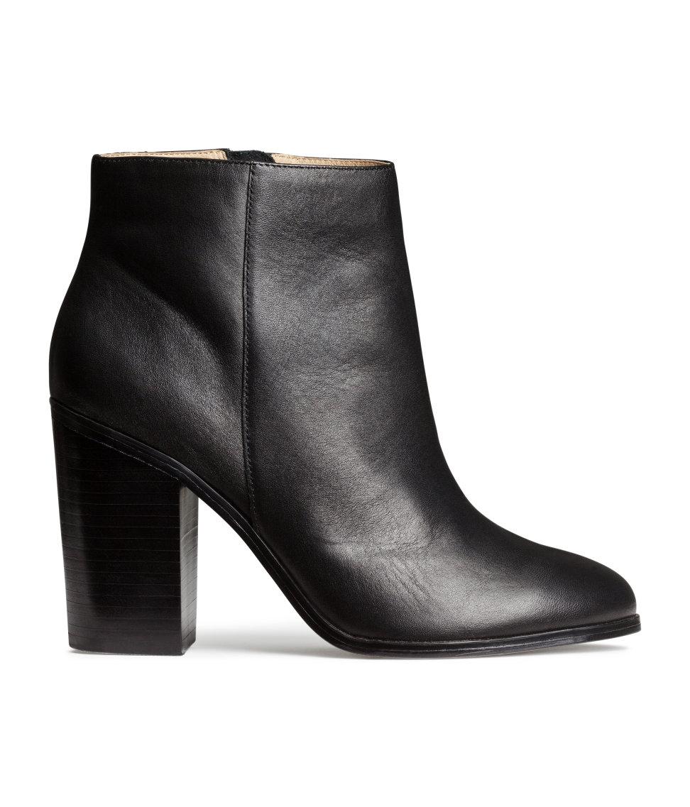 New 68% Off Hu0026M Shoes - Hu0026M Black Canvas Heeled Boots From Carlyu0026#39;s Closet On Poshmark