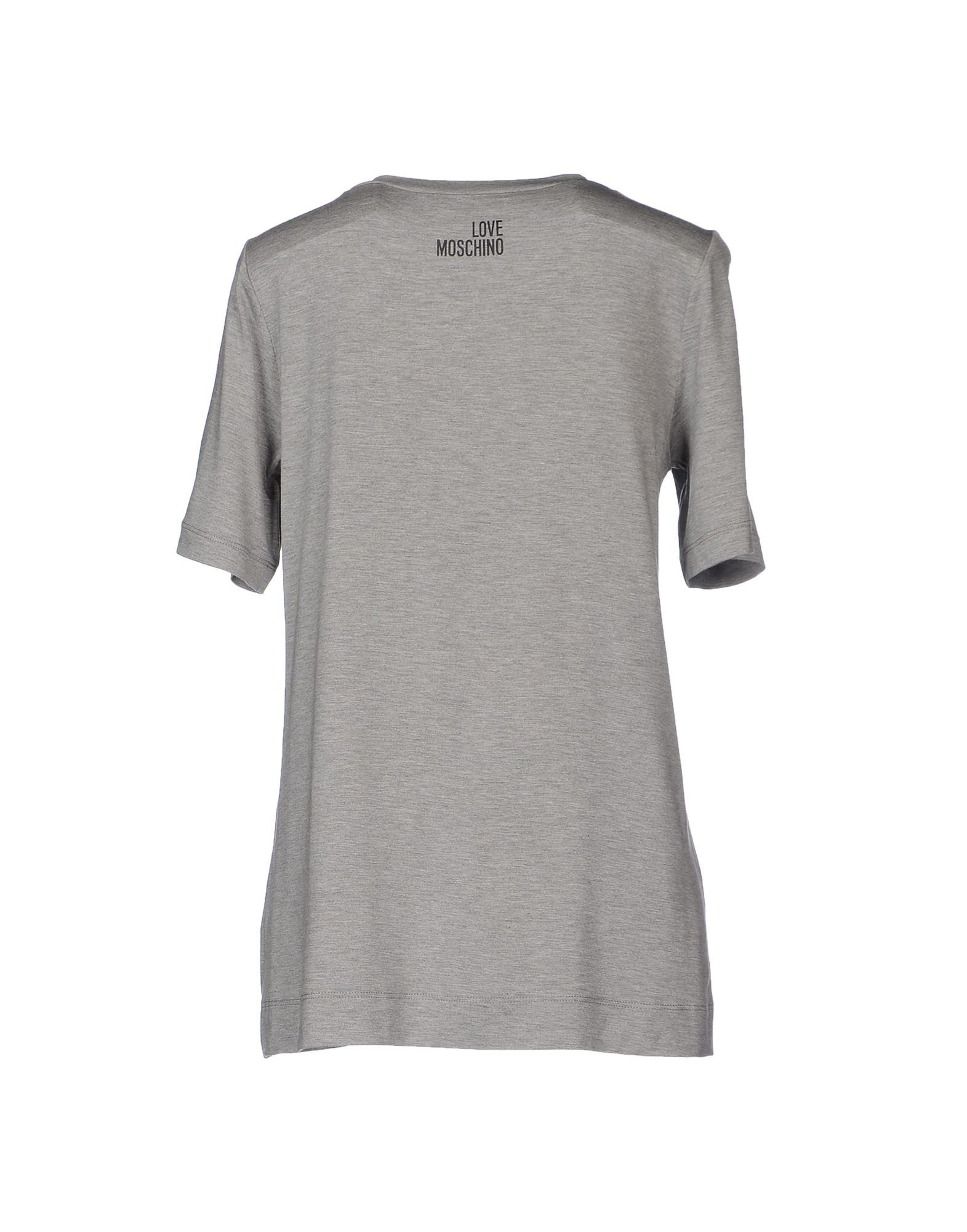love moschino t shirt in gray lyst. Black Bedroom Furniture Sets. Home Design Ideas