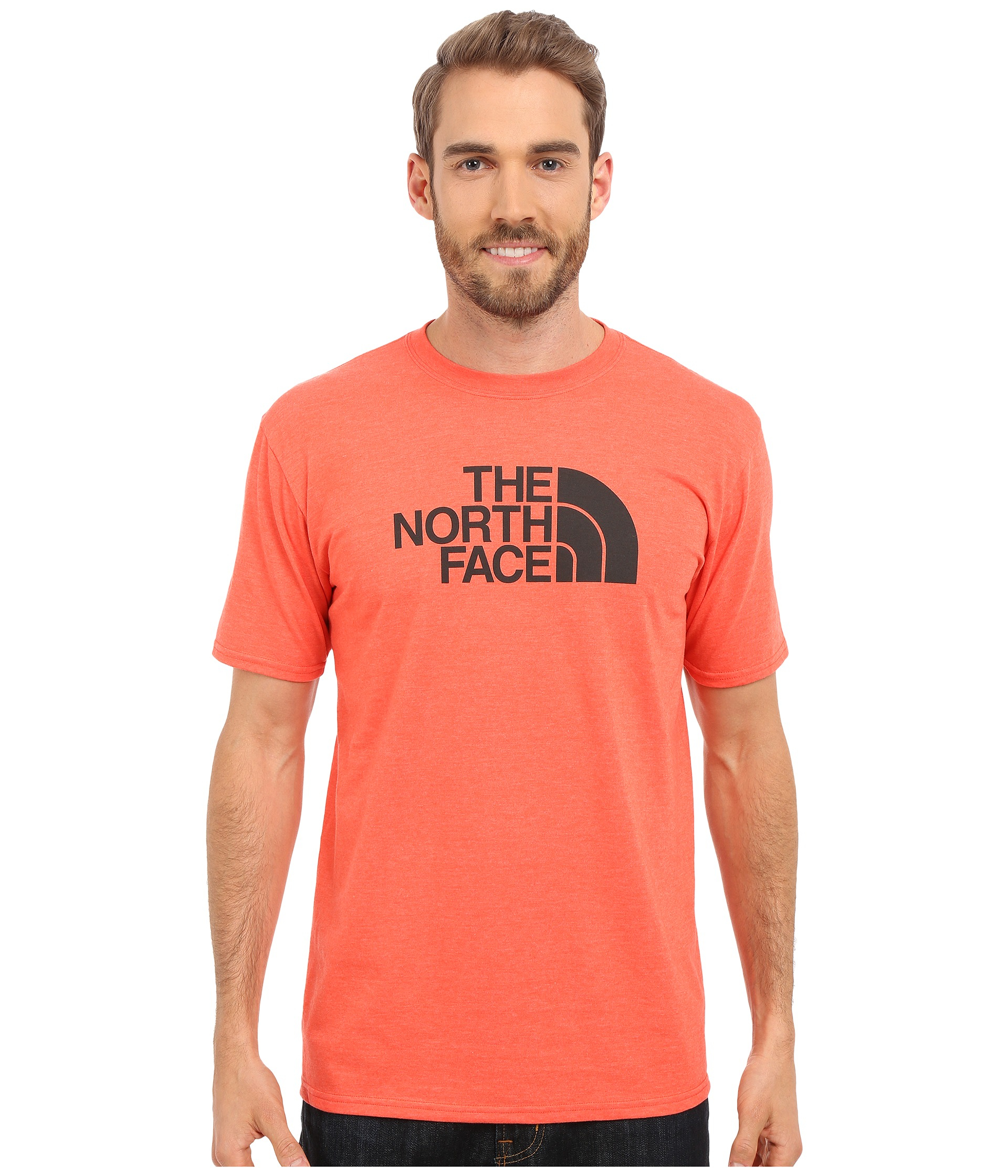 07ccc9305 Men's Red Short Sleeve Half Dome Tee