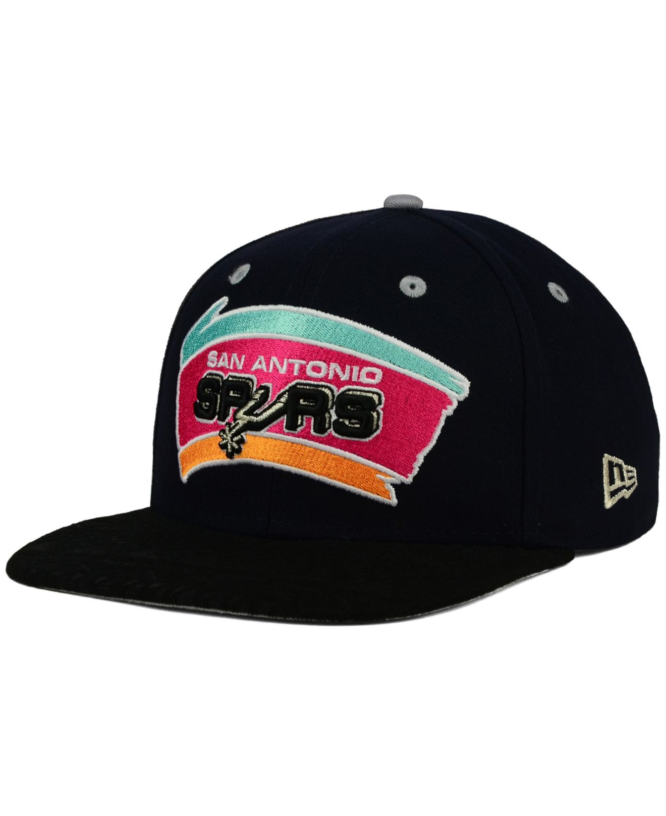 wholesale dealer 40d65 e3f8c ... cheapest lyst ktz san antonio spurs tone 9fifty snapback cap in black  for men 0aea5 856b0