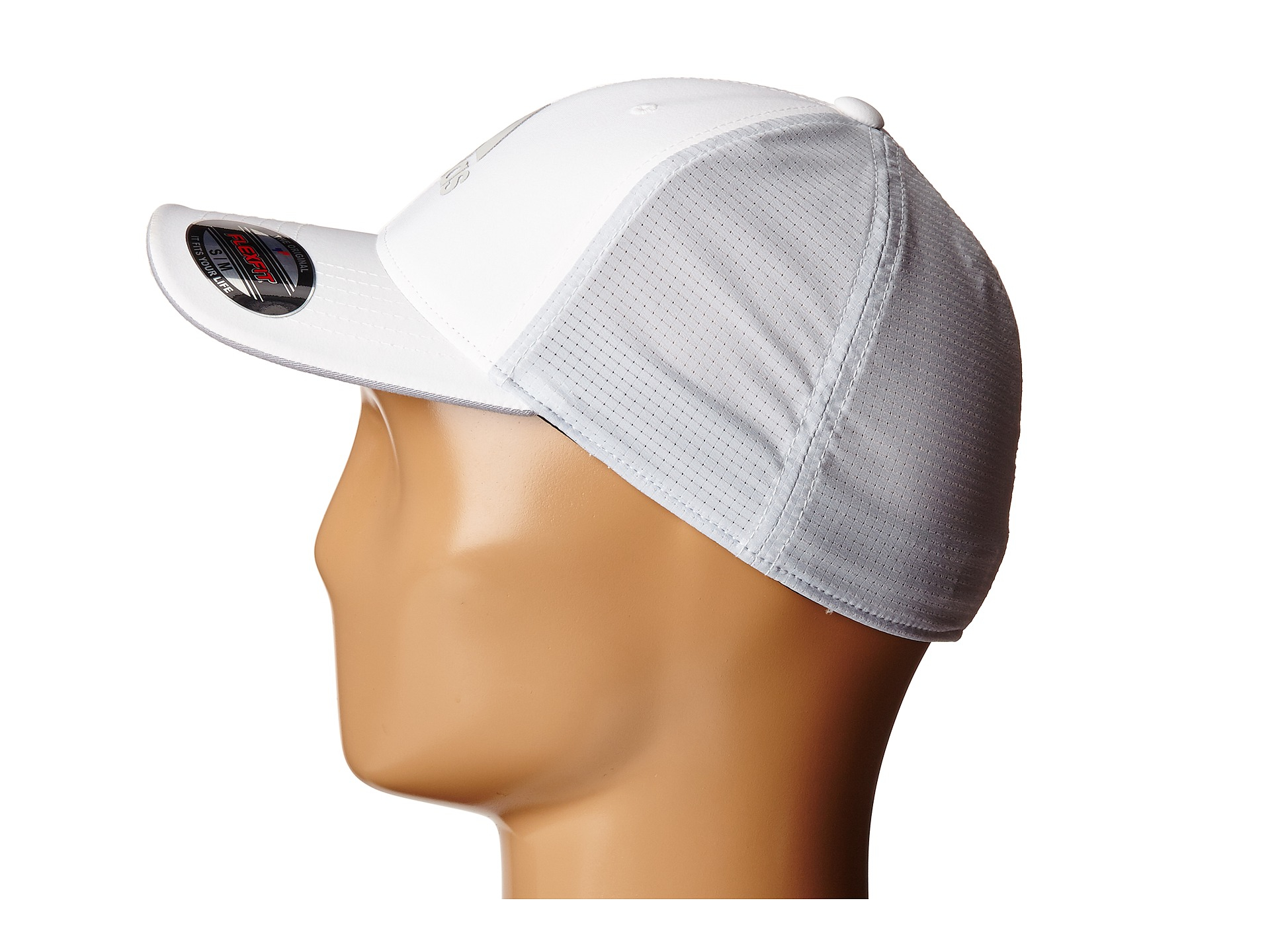 3fac69524fc Lyst - adidas Originals Lightweight Climacool® Flexfit Hat in White ...