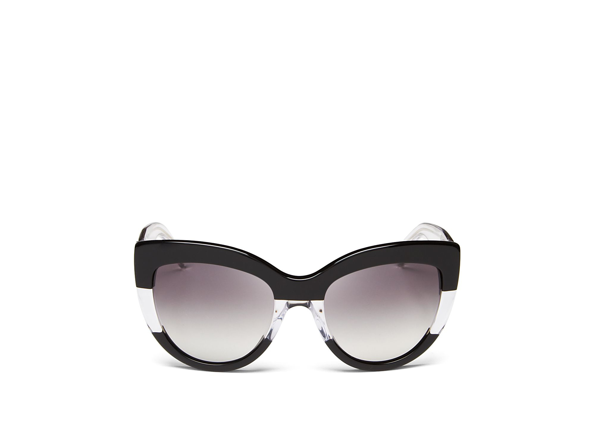 3c0f52231767 Marc By Marc Jacobs Two Tone Cat Eye Sunglasses in Black - Lyst