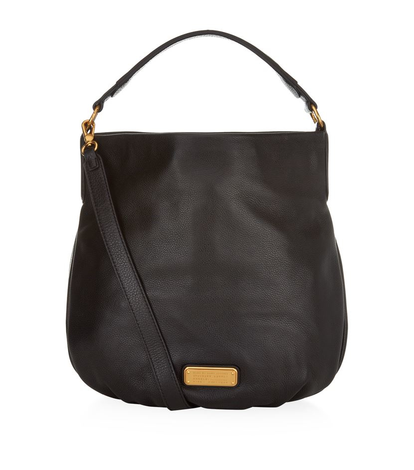 Marc By Marc Jacobs New Q Hillier Hobo Bag in Black - Lyst 58192389351a