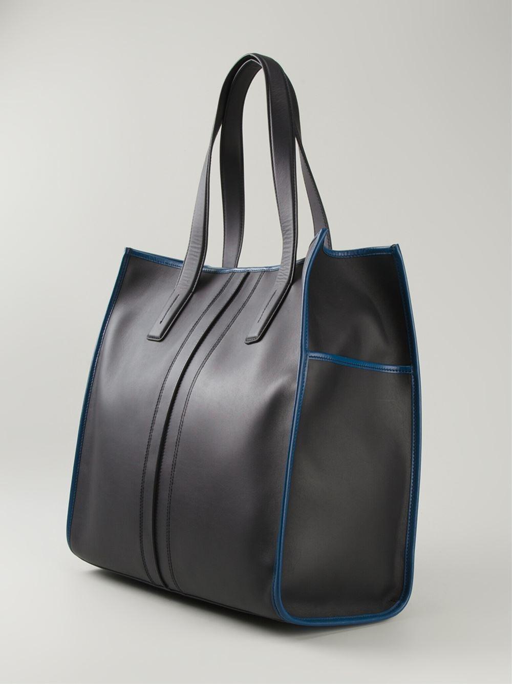 Tod s Large Script Bag in Black for Men - Lyst 9d4e47dde502a