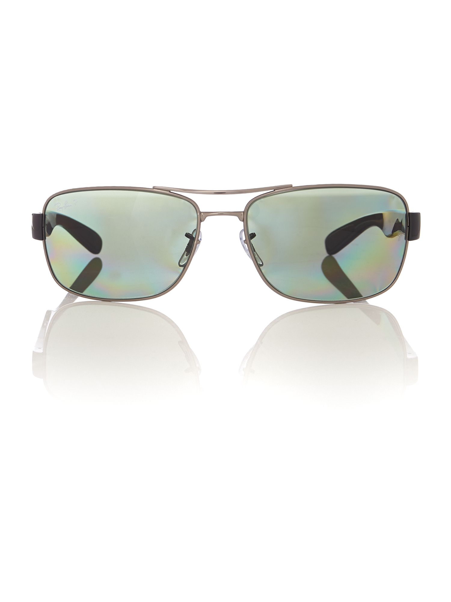 Ray-ban 0rb3522 Square Sunglasses in Black for Men | Lyst
