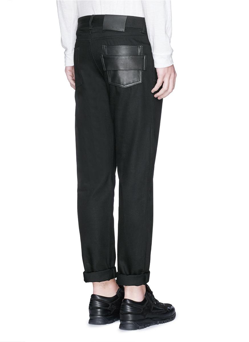 givenchy slim fit jeans in black for men lyst. Black Bedroom Furniture Sets. Home Design Ideas