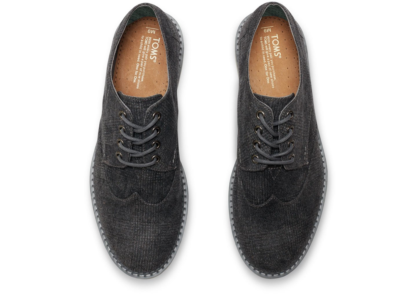 ae3f8c4bcdc Lyst - TOMS Castlerock Grey Plaid Men s Brogues in Gray for Men