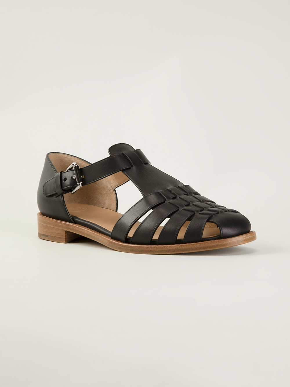 40de734eaeb1 Lyst - Church s Kelsey Sandals in Black
