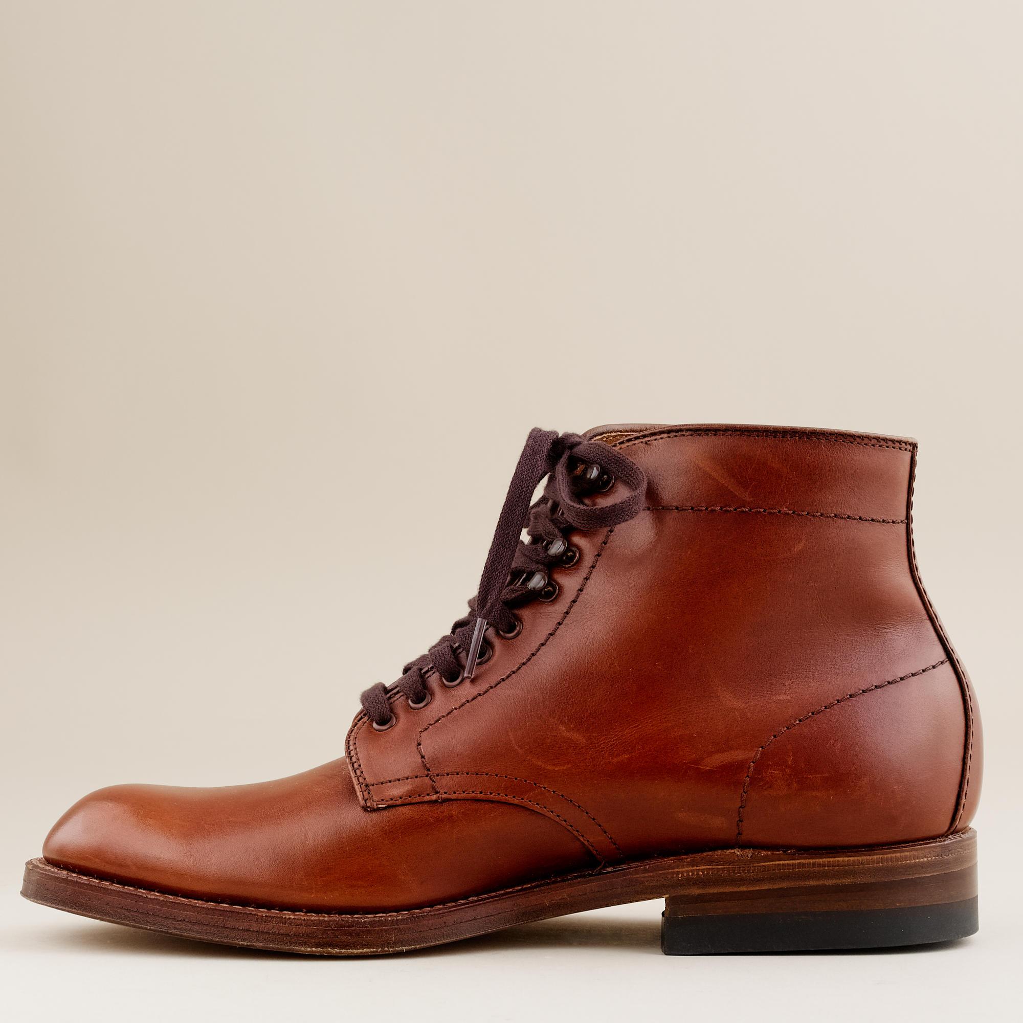 8a6205baa3e Alden Brown Alden® For J.crew Plain-toe Boots for men