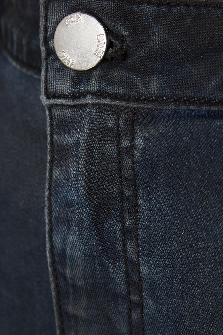 BLK DNM 14 Denim Skirt in Black