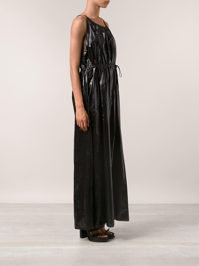 Area Di Barbara Bologna Plastic Dress In Black Lyst