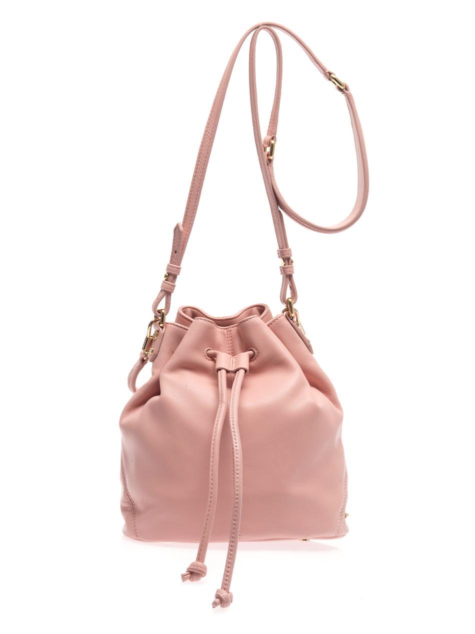 Elizabeth And James Cynnie Mini Bucket Bag In Pink Lyst