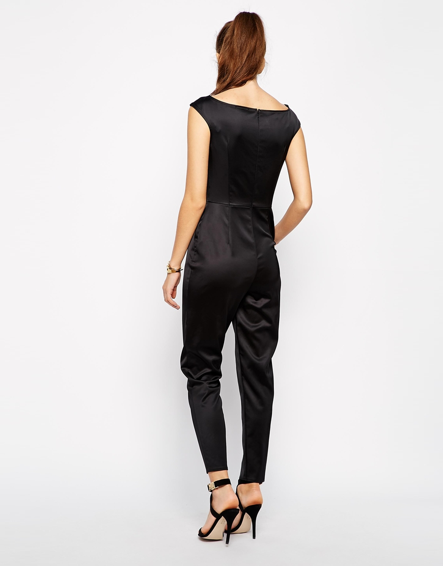 a4f5dbdf89c Gallery. Women s Ruffle Playsuits Women s Polka Dot Jumpsuits Women s Black  ...