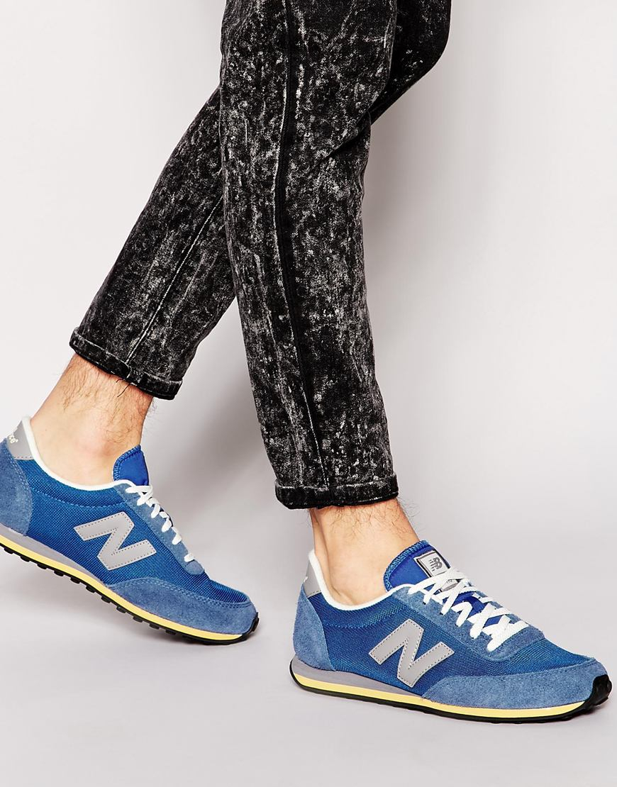 New Balance 410 Vintage Sneakers in Blue for Men - Lyst