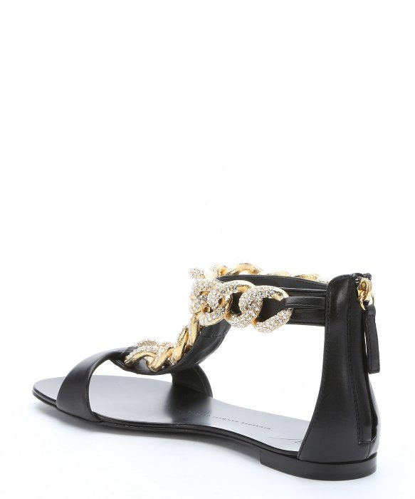 Giuseppe Zanotti Embellished Chain-Link Sandals buy cheap 100% guaranteed find great xfoC4Eq