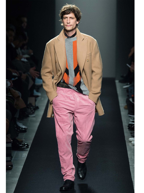 Bottega veneta Camel Hair Knit Coat in Natural for Men | Lyst