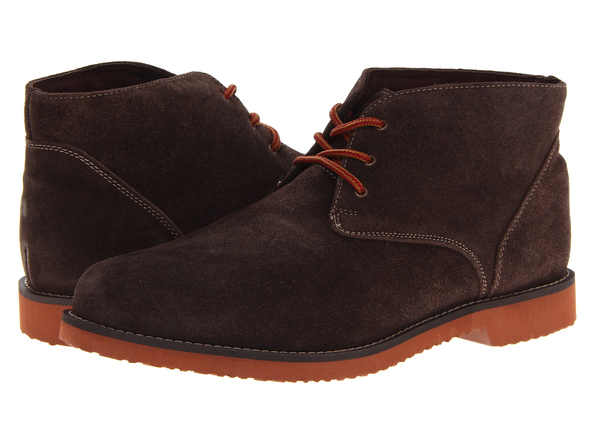 Nunn Bush Denim Woodbury Plain Toe Casual Chukka Boot In