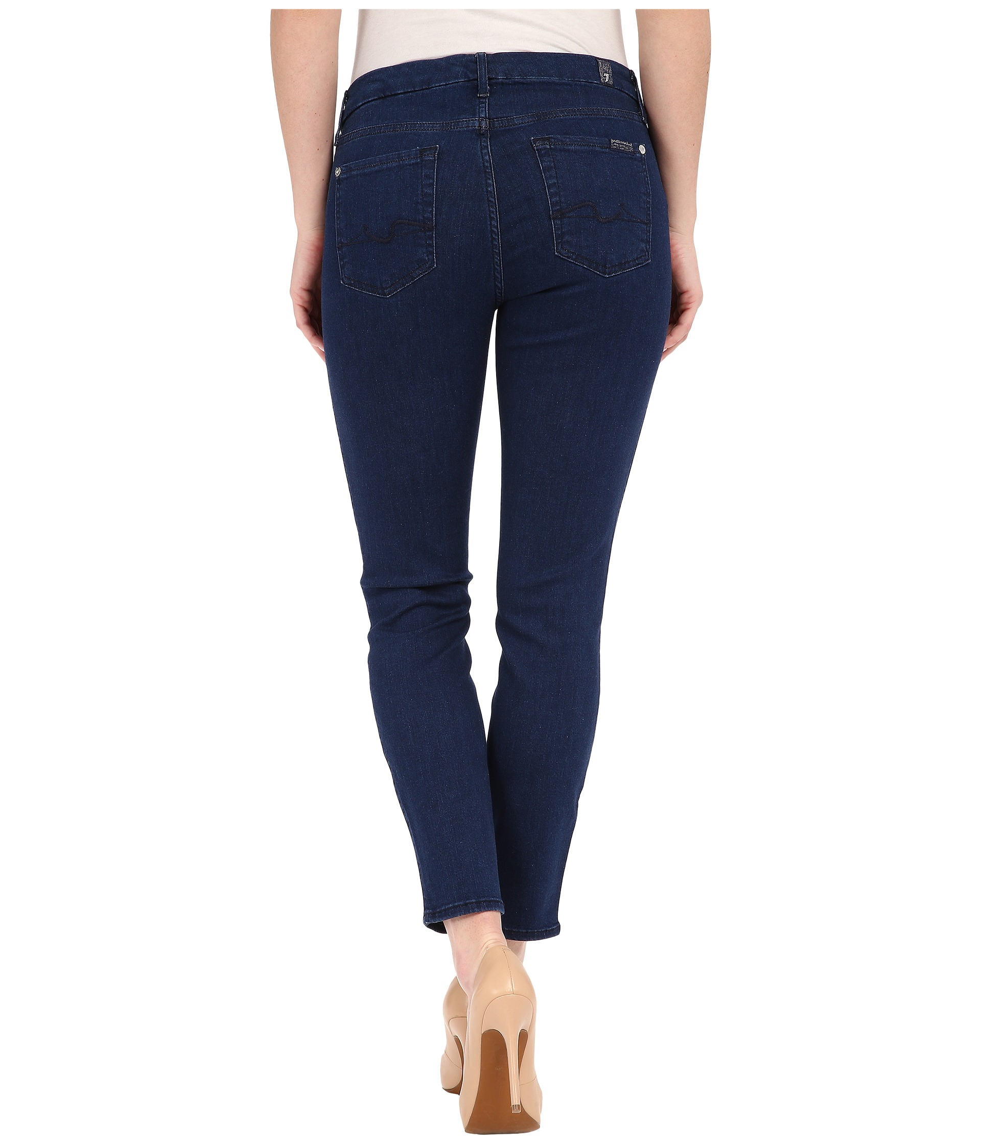 The Skinny Crop Slim Illusion jeans 7 For All Mankind e4PKii0sm