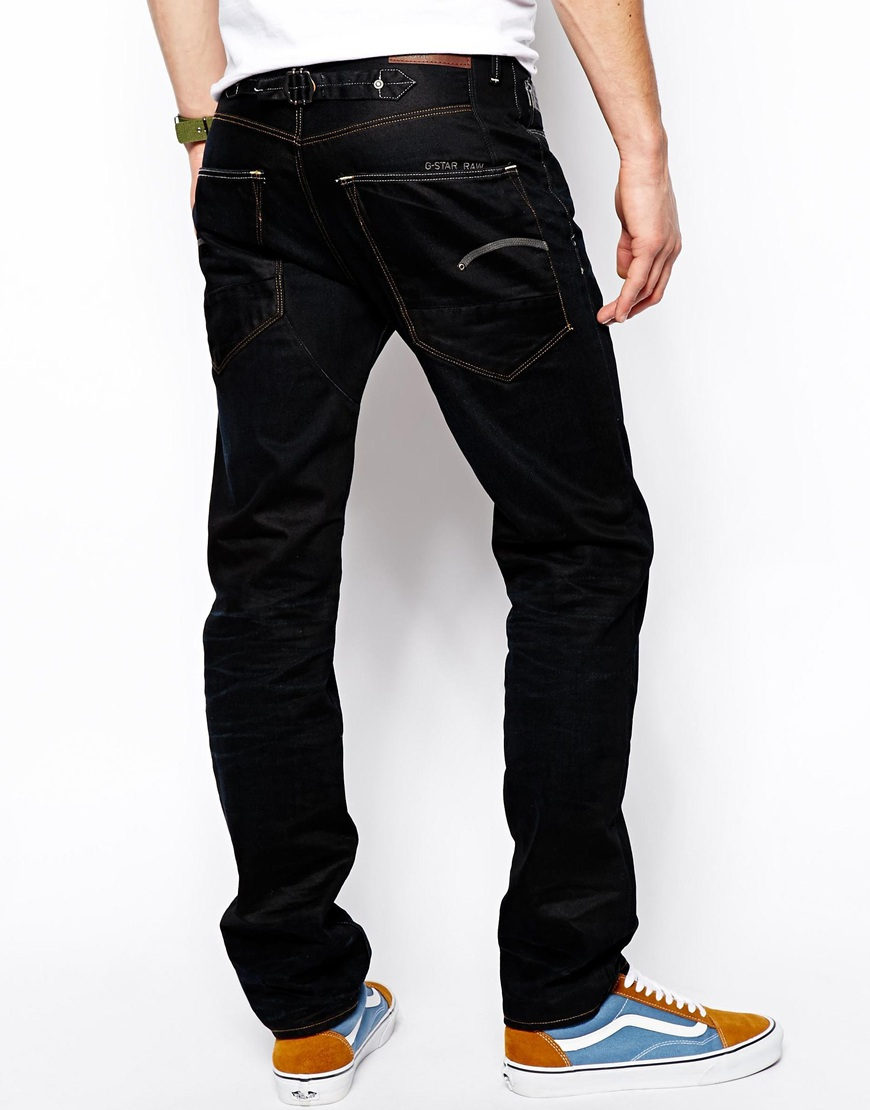 d9df8f3424f G-Star RAW G Star Jeans Blades Tapered Lexicon Denim in Blue for Men ...