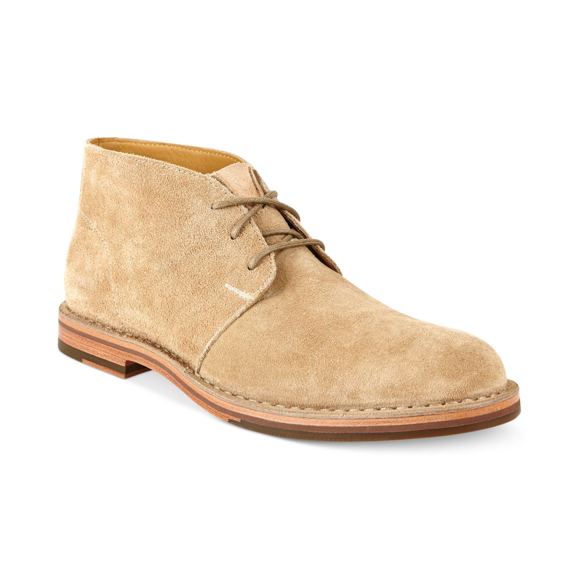 Cole Haan Glenn Chukka Boots in Natural