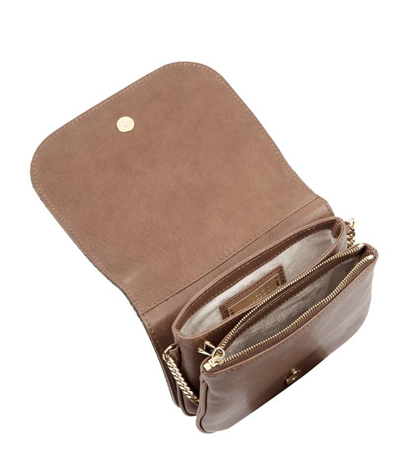 Jimmy Choo Zadie Crossbody Bag in Brown
