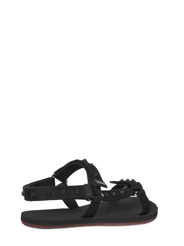 Valentino Cloth Flip Flops y86Zb