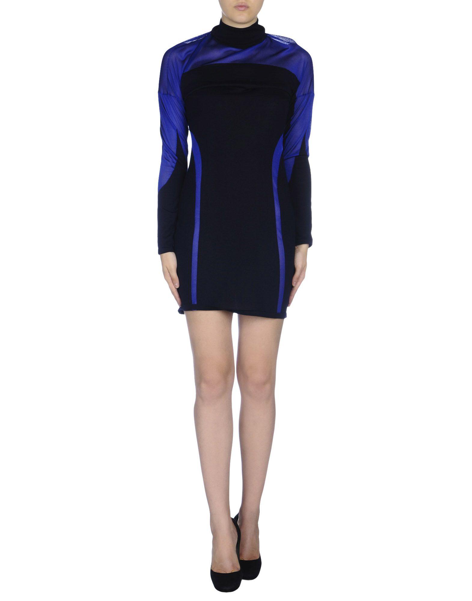 dirk bikkembergs dress in blue lyst
