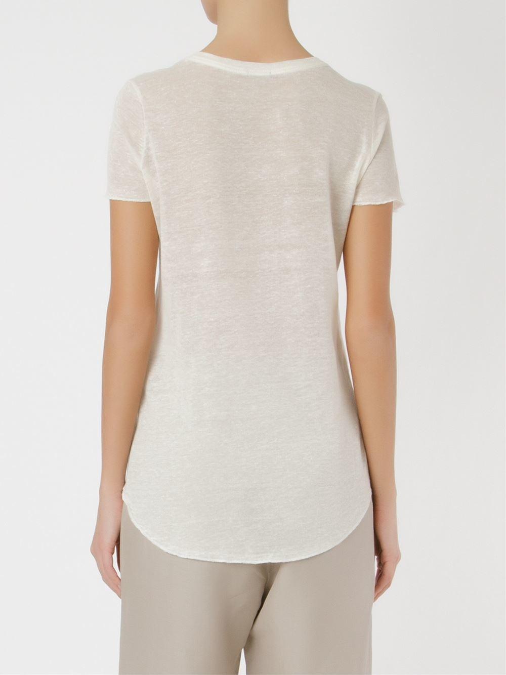 Osklen Front Print T Shirt In White Lyst