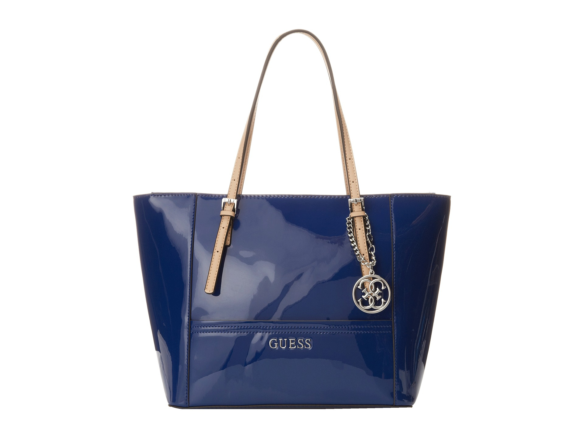 6c65dfd1d9 Lyst - Guess Delaney Small Classic Tote in Blue
