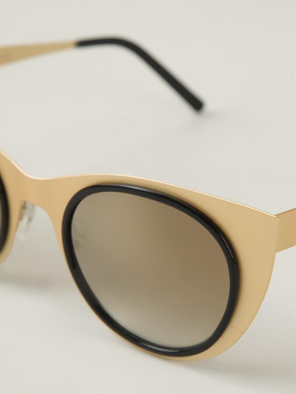 cff0f09302cc Lyst - Kyme  Angel Light  Sunglasses in Metallic for Men