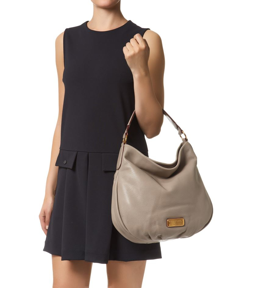 Marc By Marc Jacobs New Q Hillier Hobo Bag In Gray Lyst