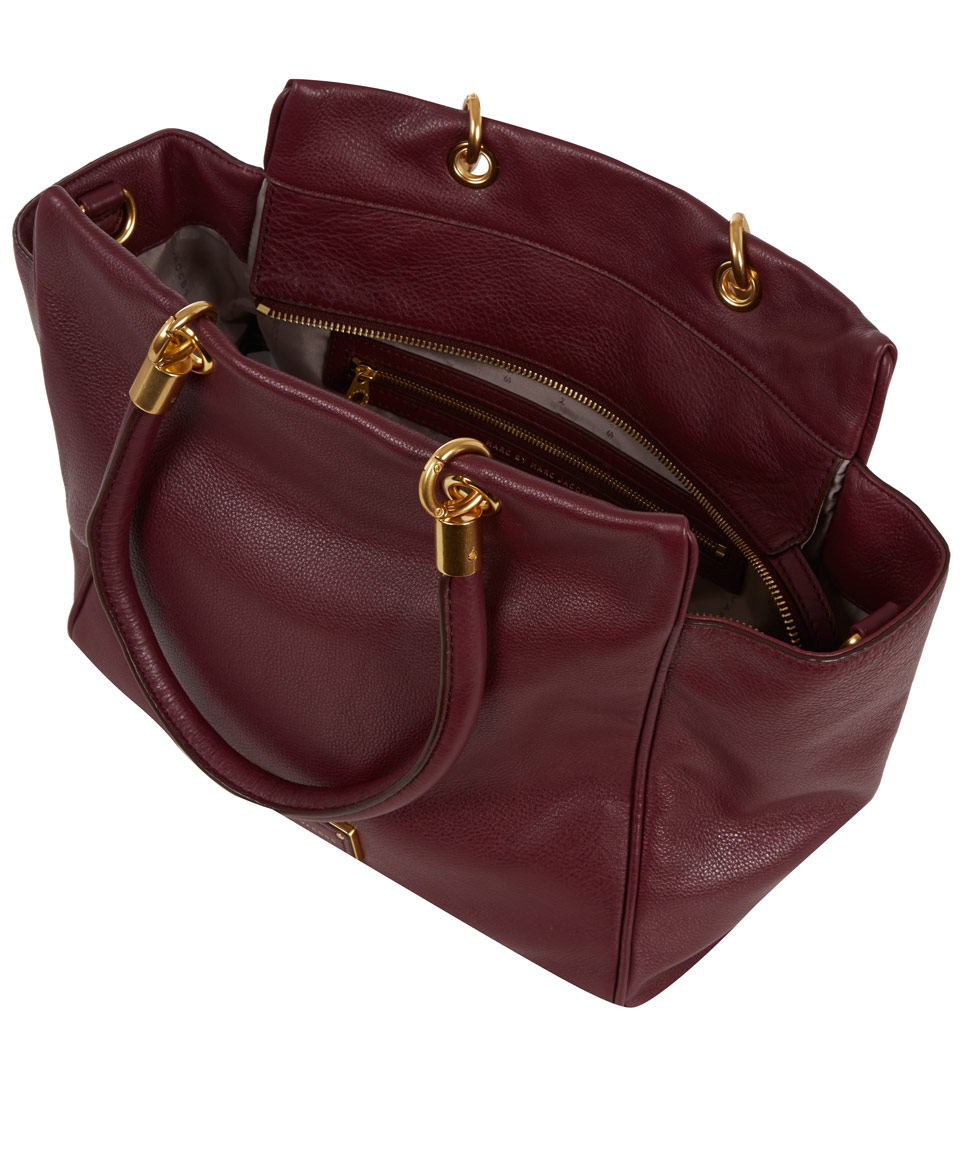 Marc By Marc Jacobs Burgundy Too Hot To Handle