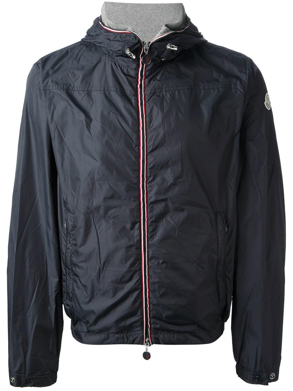 bf63353a6 Moncler Urville Jacket in Blue for Men - Lyst