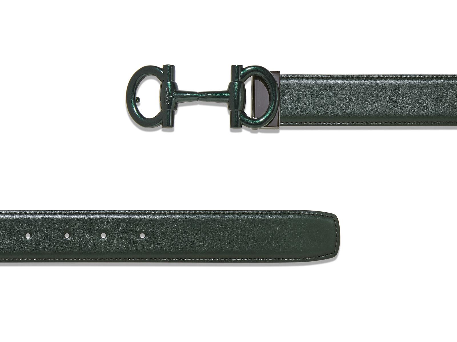 81b390a2a4 Lyst - Ferragamo Limited Edition Parigi Buckle Belt in Blue for Men