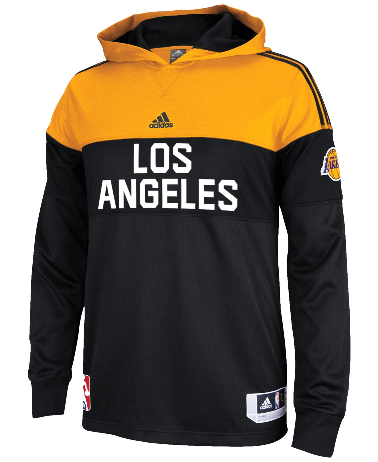 exclusive shoes new arrive for whole family Men'S Long-Sleeve Los Angeles Lakers On Court Shooter Shirt