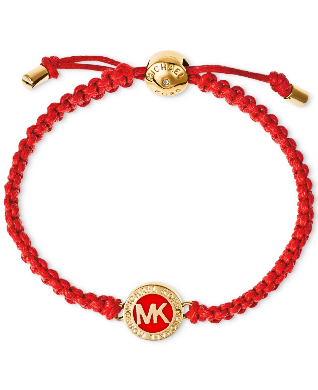 michael kors macram 233 logo bracelet macy s exclusive in