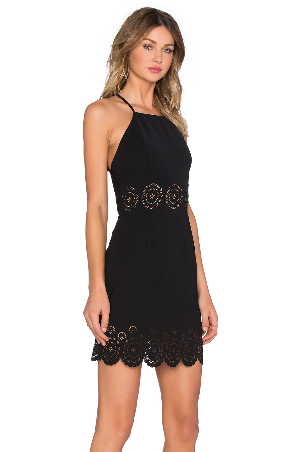 6d1c6dc297ad Lovers + Friends X Revolve Nina Midi Dress in Black - Lyst