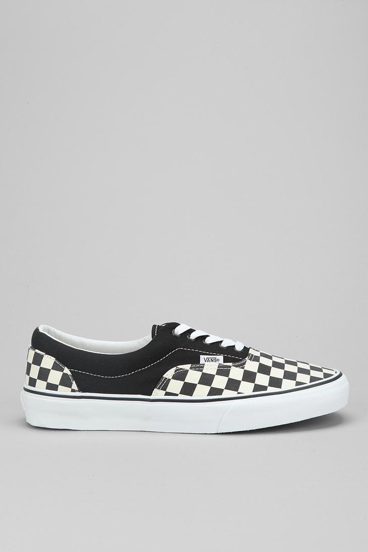 Lyst - Vans Era Checkerboard Mens Sneaker in Black for Men 81790cd6fe