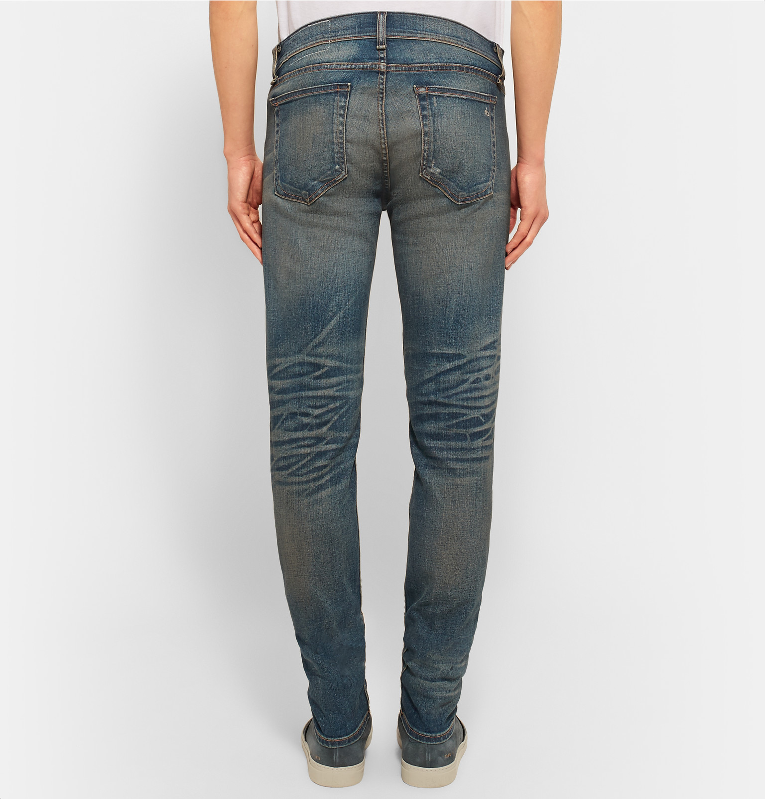 Adapter Une Maigre Ajustement Des Jeans En Denim Stretch Rag & Bone tIRtYP