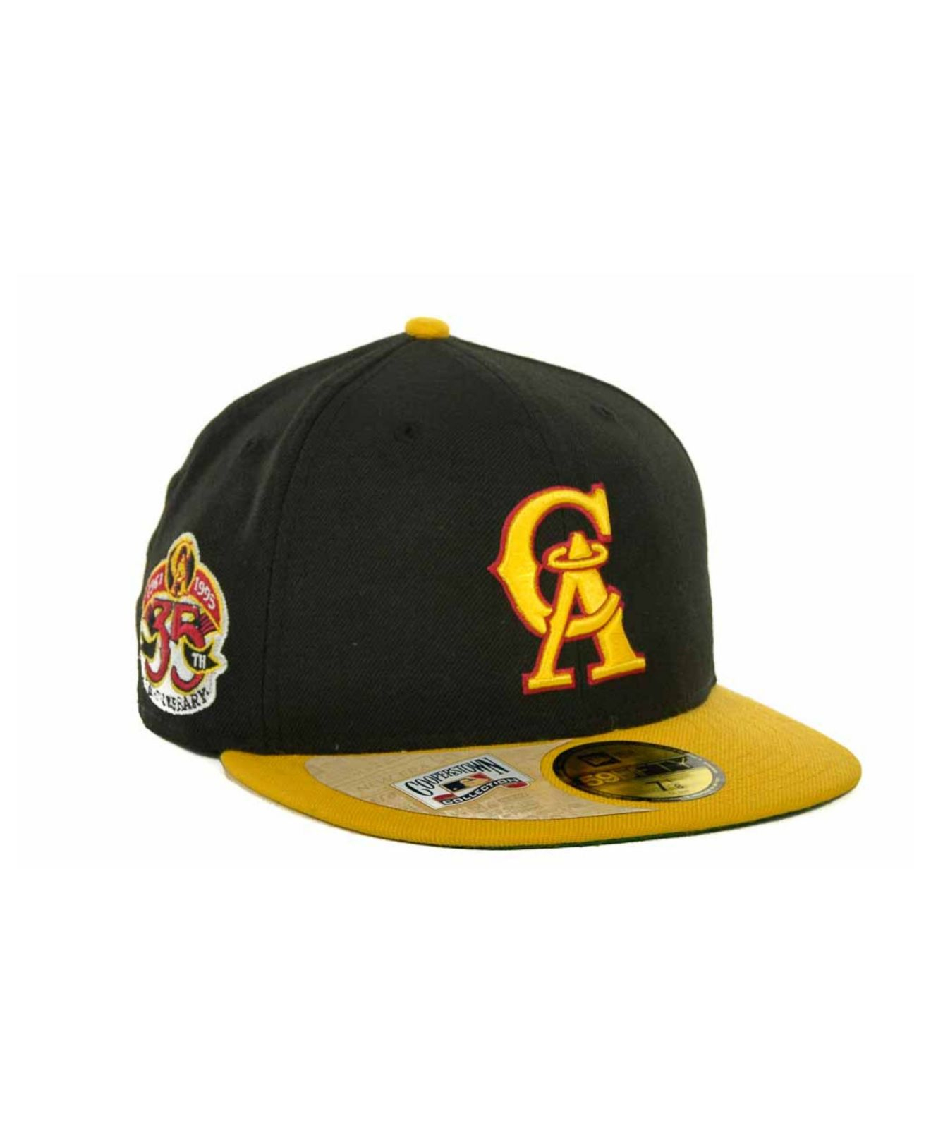 c7cb23aaad45d2 ... cap 5950 fitted navy blue 1997 cooperstown mlb b5146 ebb8c 45643;  amazon lyst ktz los angeles angels of anaheim cooperstown patch 59fifty  fa39d f79dc