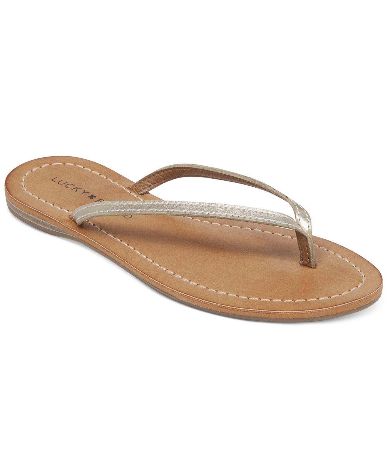 Roxy Silver Flip Flops