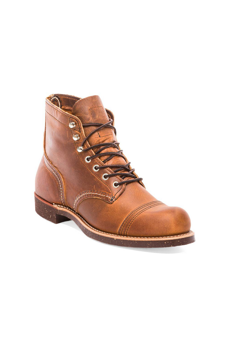 Lyst Red Wing Iron Ranger In Brown For Men