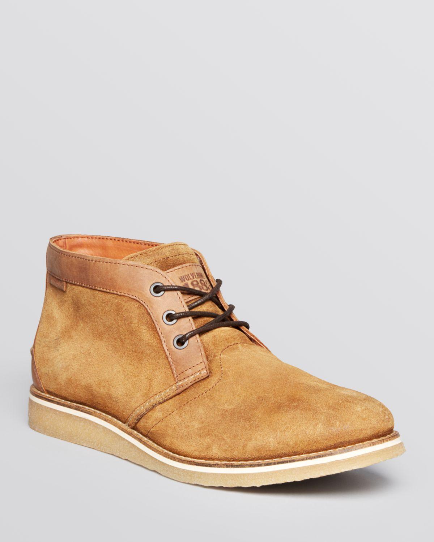 573da9f2007 Wolverine Brown Julian Suede Chukka Boots for men