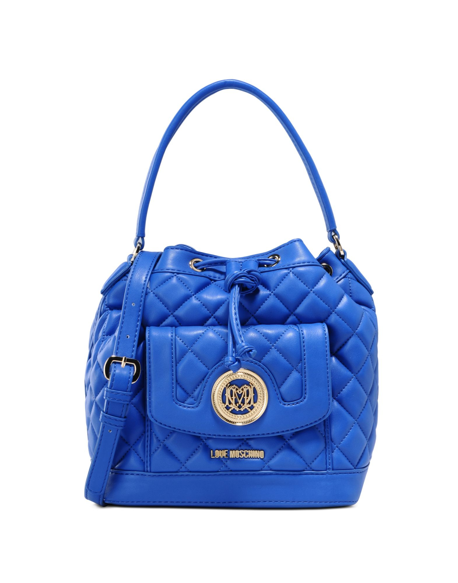 love moschino handbag in blue lyst. Black Bedroom Furniture Sets. Home Design Ideas