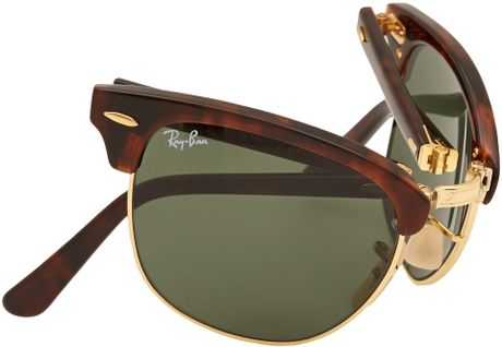 ray ban gold clubmaster  ray ban clubmaster sunglasses tortoise shell gold
