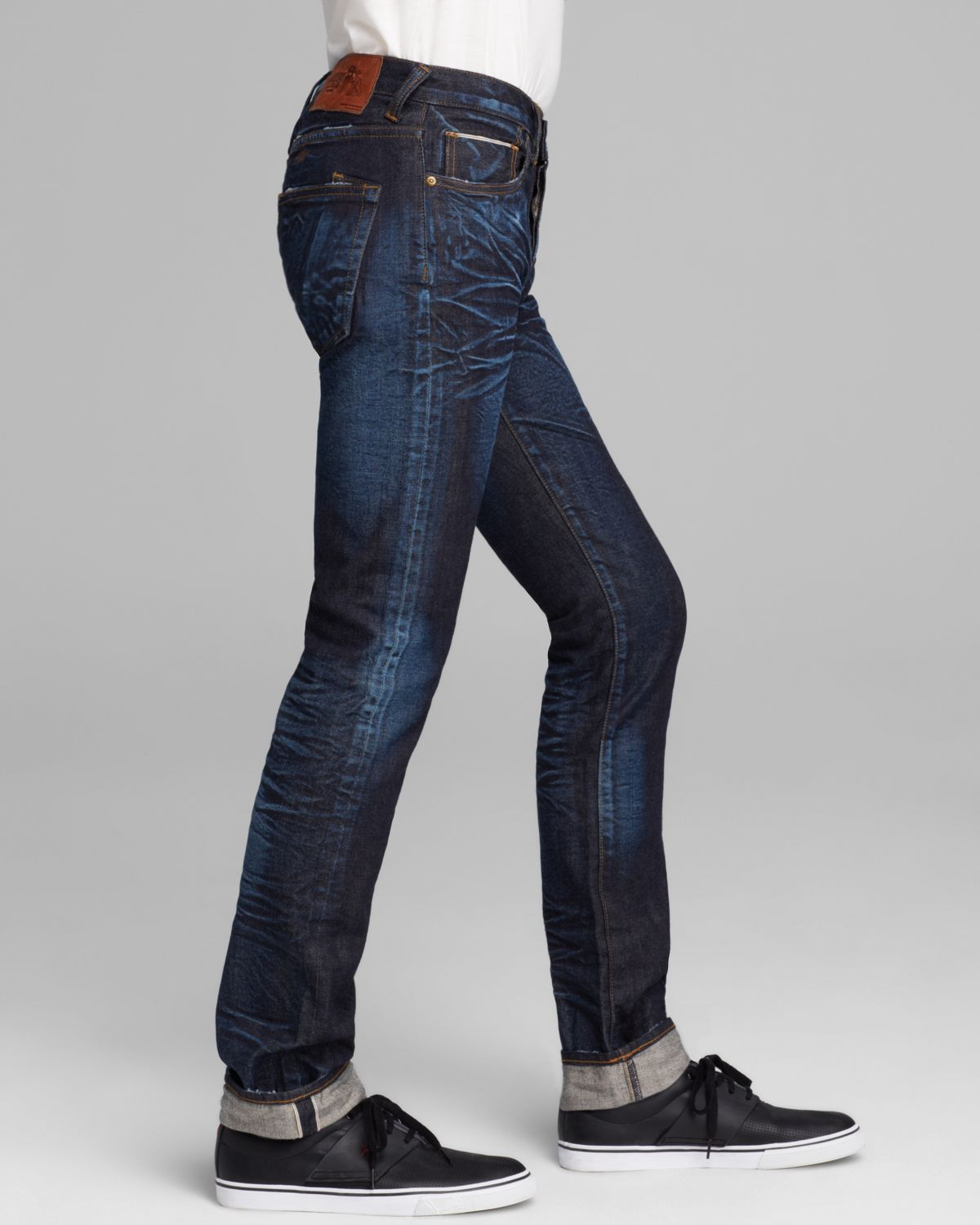 57450ffdcdeb07 PRPS Jeans - Japanese Selvage Rambler Super Slim Fit In Six Month Wash in  Blue for Men - Lyst