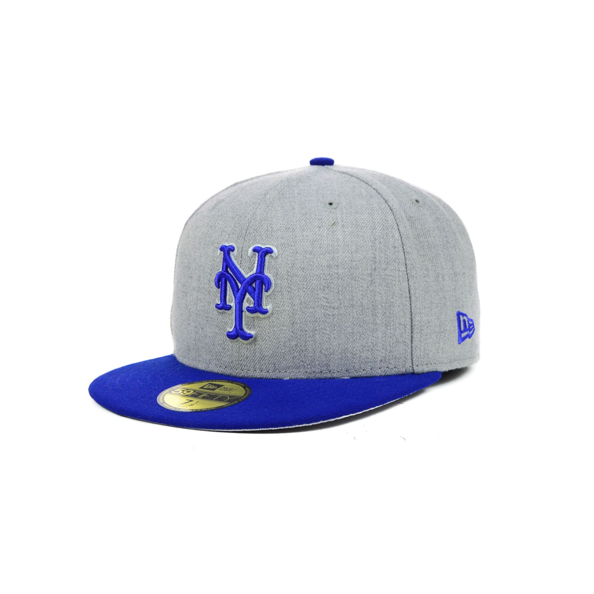 buy online 9d262 9726c ... where can i buy lyst ktz new york mets mlb heather basic 59fifty cap in  blue