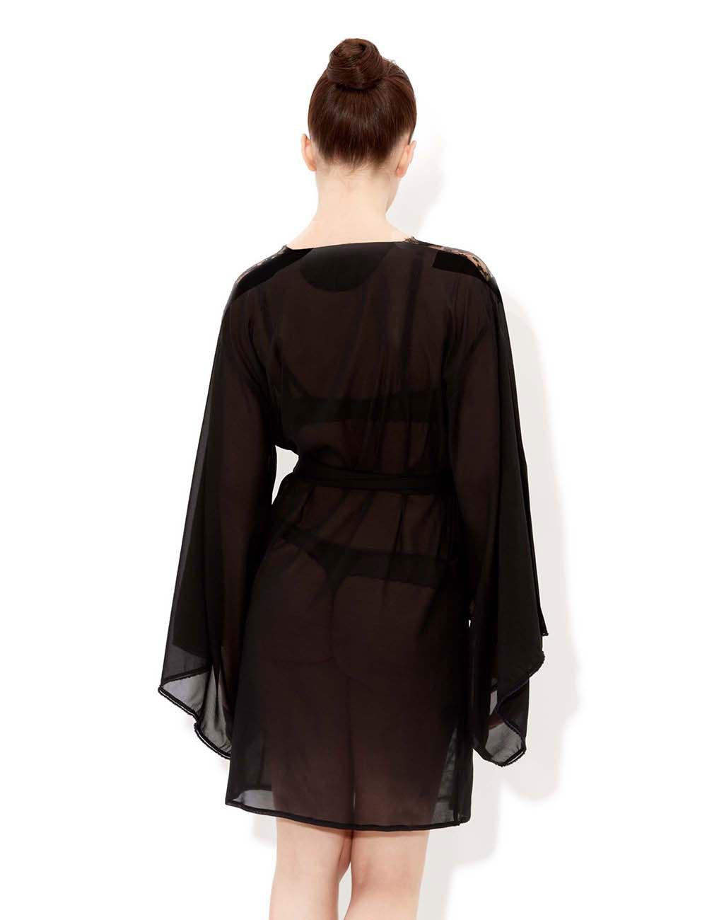 black silk robe - HD1000×1300
