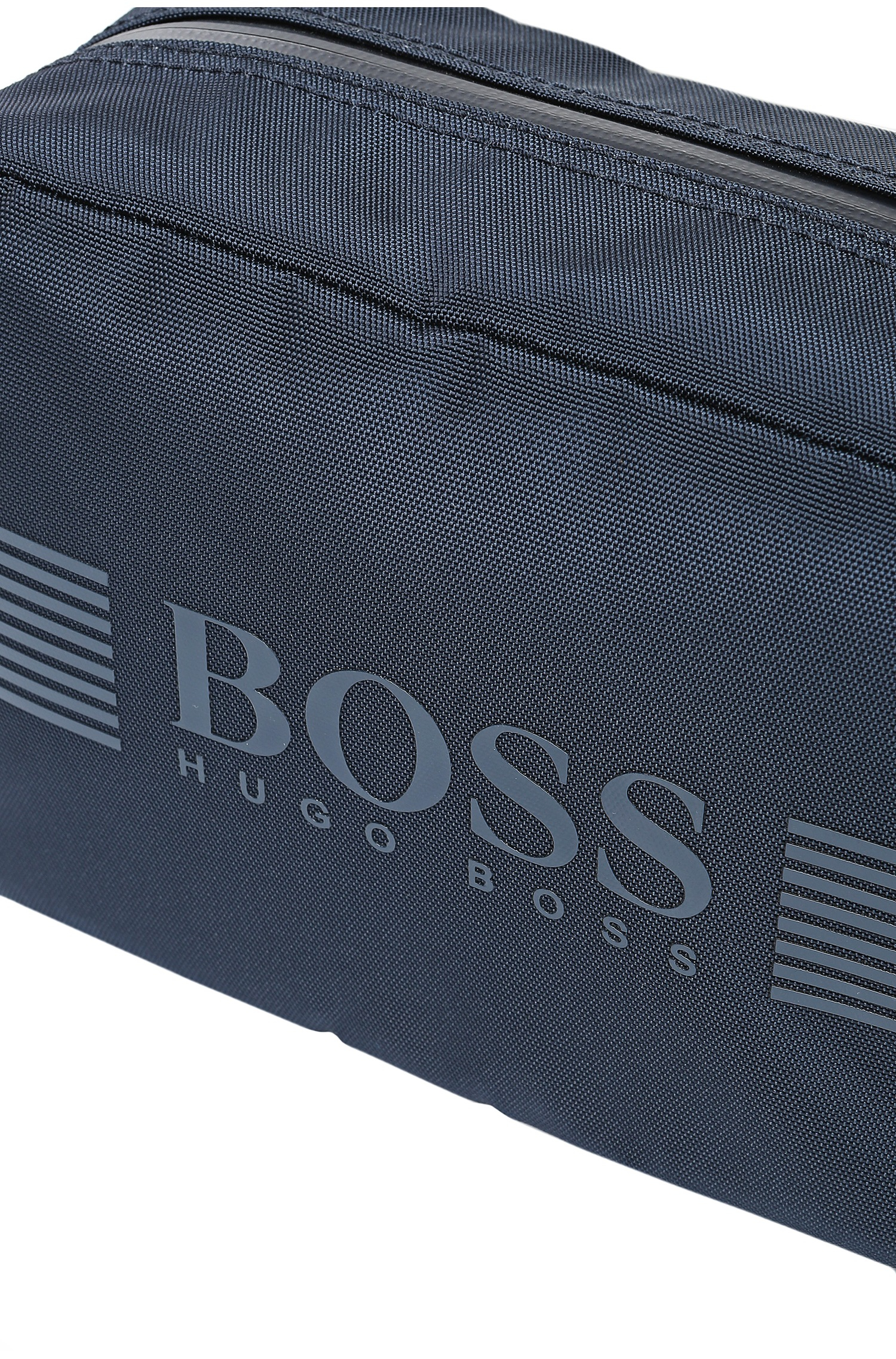 6f7a4c473633 BOSS Green Wash Bag In Nylon With Trim   pixel washbag  in Blue for ...